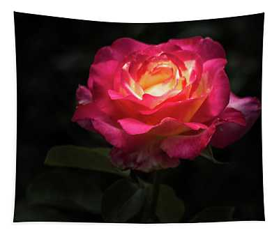 A Rose For Love Tapestry