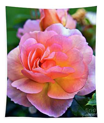 A Rose Is A Rose Tapestry