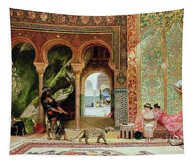 A Royal Palace In Morocco Tapestry