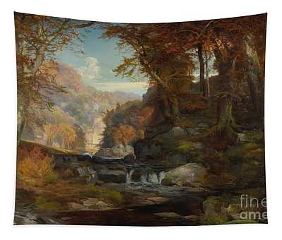 A Scene On The Tohickon Creek Tapestry