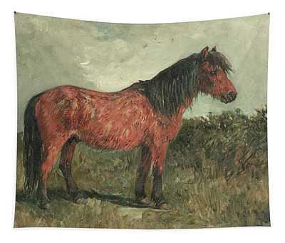 A Shetland Pony Tapestry
