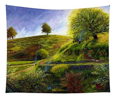 A Spring Morning At Bag End Tapestry