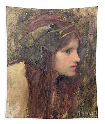 A Study For A Naiad Tapestry