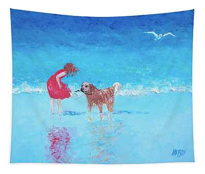A Summer Breeze Tapestry