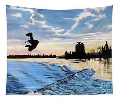 A Sunset Show Tapestry