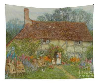 A Surrey Cottage, 1880 Tapestry