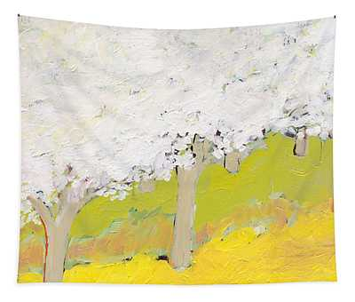 A Valley In Bloom Tapestry