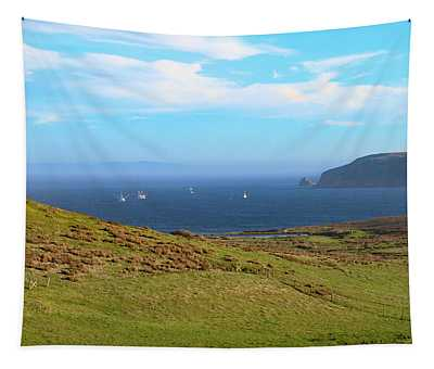 A View To Drakes Estero Point Reyes Tapestry