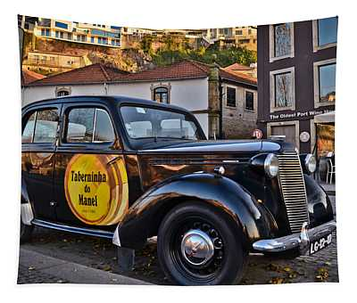A Vintage Vauxhall At Riviera Do Porto - Portugal - Taberninha D Tapestry