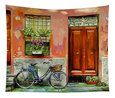 A Visit Tapestry