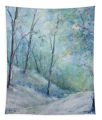 A Winter's Walk Tapestry