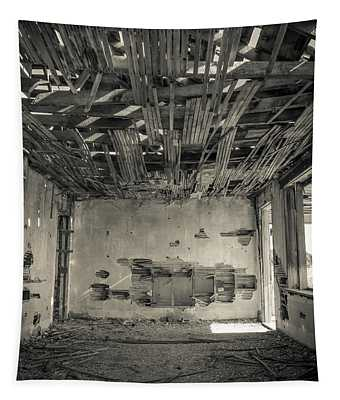 Abandoned Home Widtsoe Ghost Town Tapestry