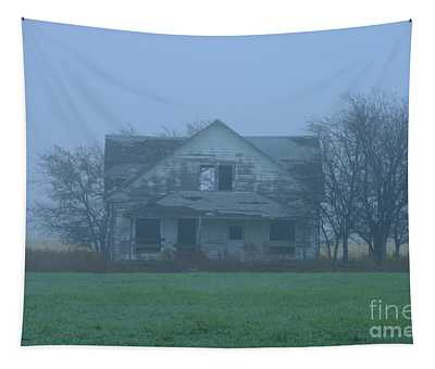 Abandoned In Oklahoma Tapestry