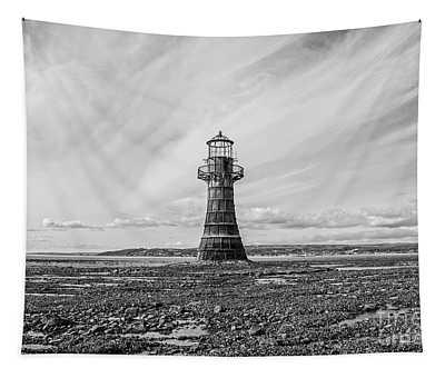 Abandoned Light House Whiteford Tapestry