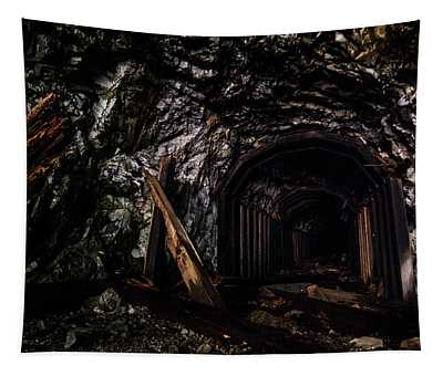 Abandoned Railroad Tunnel Tapestry