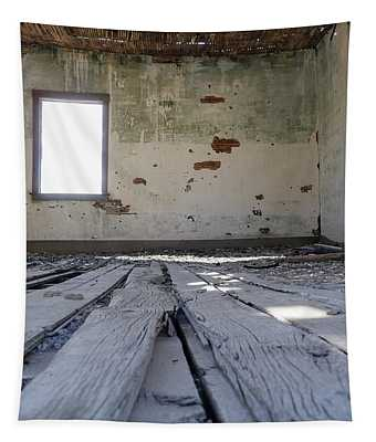 Abandoned School House Tapestry