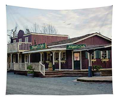 Abigail's Cafe - Hope Valley Art Tapestry