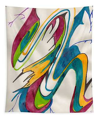 Abstract Art 103 Tapestry