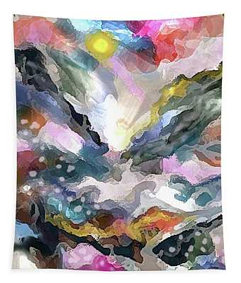 Mountain Flurries Tapestry