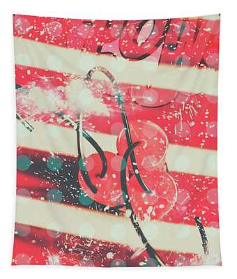 Abstract Dynamite Charge Tapestry