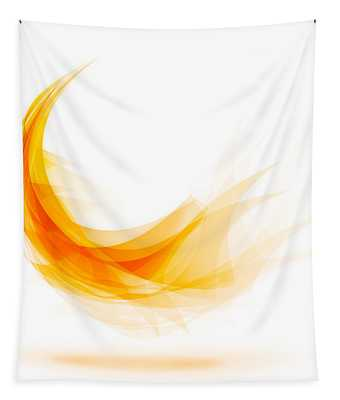 Abstract Feather Tapestry