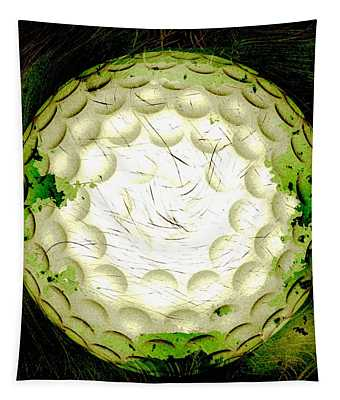 Abstract Golf Ball Tapestry
