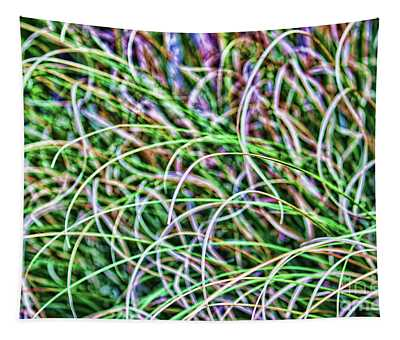 Abstract Grass Tapestry