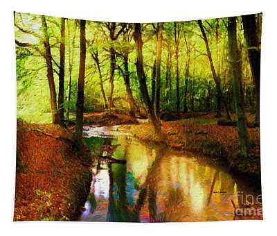 Abstract Landscape 0747 Tapestry