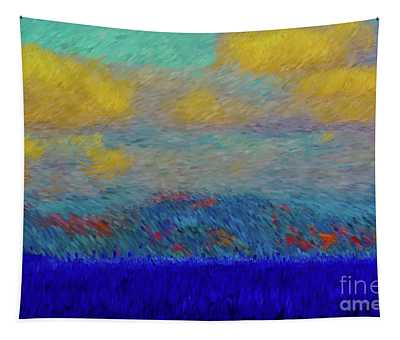 Abstract Landscape Expressions Tapestry