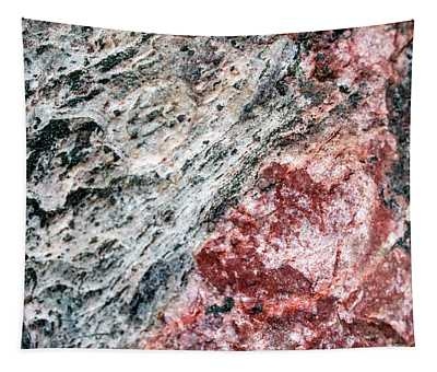Abstract Rock Marbled Marvel Tapestry