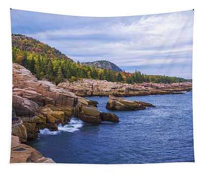 Acadia's Coast Tapestry
