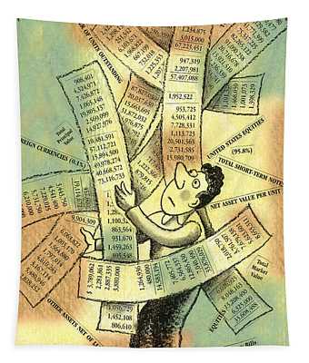 Accounting And Bookkeeping Tapestry