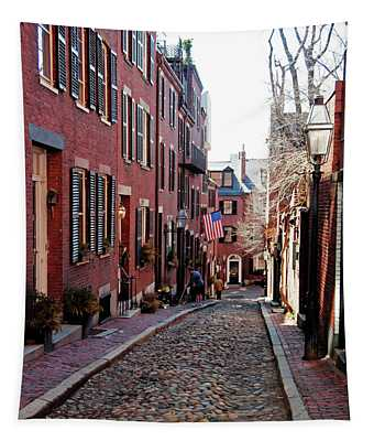 Acorn Street Beacon Hill Tapestry
