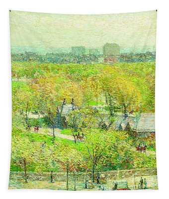 Across The Park Tapestry