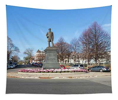 Admiral Farragut Statue Tapestry