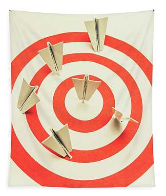 Aeroplane Target Pin Board Tapestry