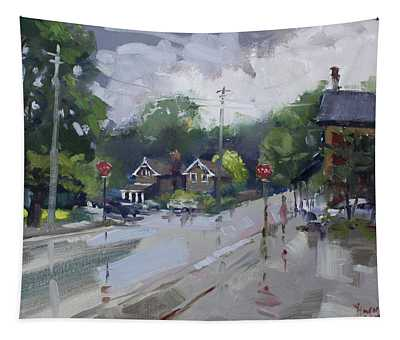 Afetr Rain At Glen Williams On Tapestry