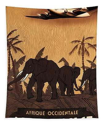 Equatorial Africa Wall Tapestries
