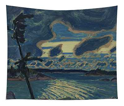 After Sunset Georgian Bay Tapestry