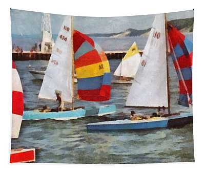 After The Regatta  Tapestry