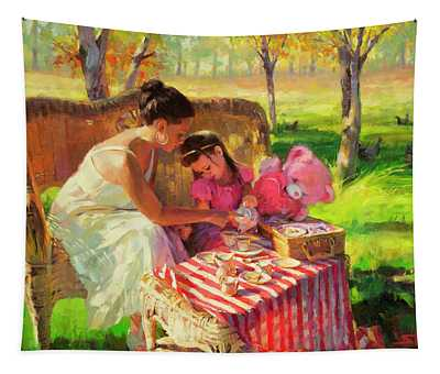 Afternoon Tea Party Tapestry