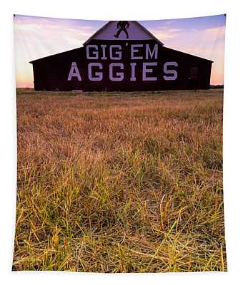 Aggie Land Tapestry