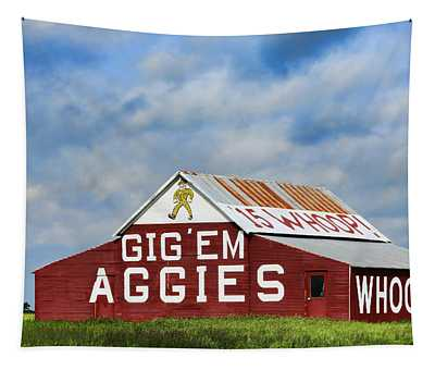 Aggie Nation Barn Tapestry