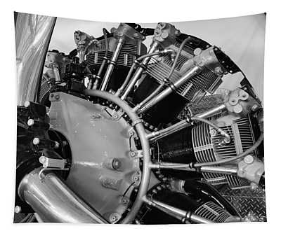 Aircraft Engine Tapestry