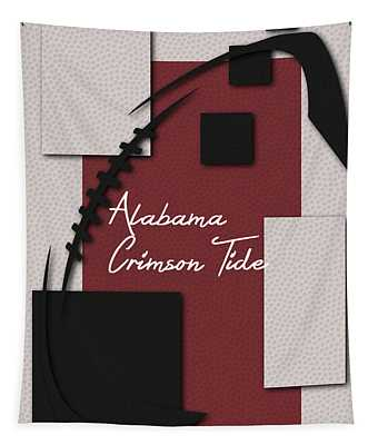 Alabama Crimson Tide Art Tapestry