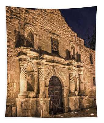 Alamo Door Painterly Tapestry