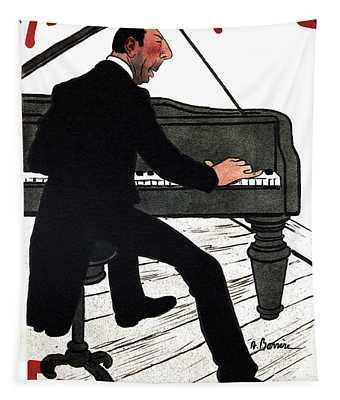 Alcazar D'ete' - Fragson - Vintage Advertising Poster Tapestry