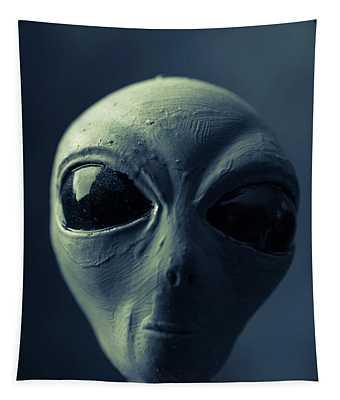Alien X-files Phone Case Tapestry