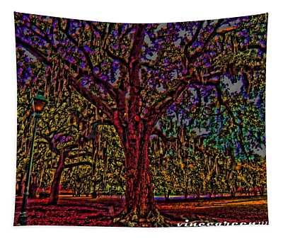 Alive Oak Tapestry