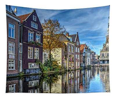Alkmaar From The Bridge Tapestry